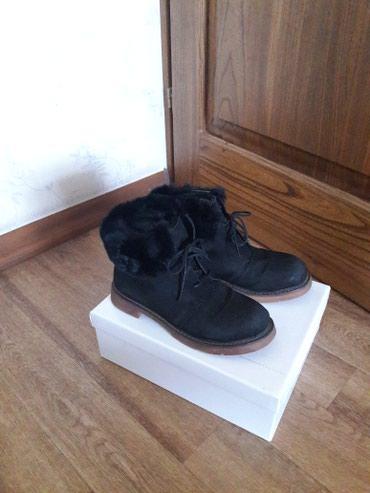 Женские зимние замшевые ботиночки, в Бишкек