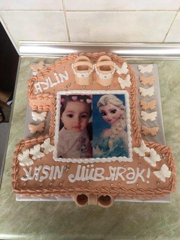 Zərdab şəhərində Sekilli tort