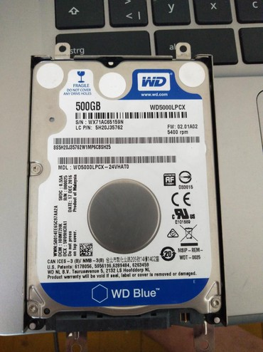 Hard diskovi | Srbija: Hard disk HDD za laptop 500GB