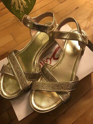 Zlatne sandale veličina 41