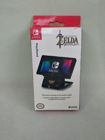 Стэнд для. Nintendo Switch. Super Mario, Zelda