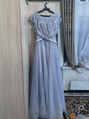 чёрное вечернее платье в пол в Кыргызстан: Продаю вечернее платье, одевала один ра Состояние идеальное