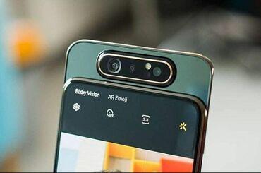 İşlənmiş Samsung A80 128 GB qara
