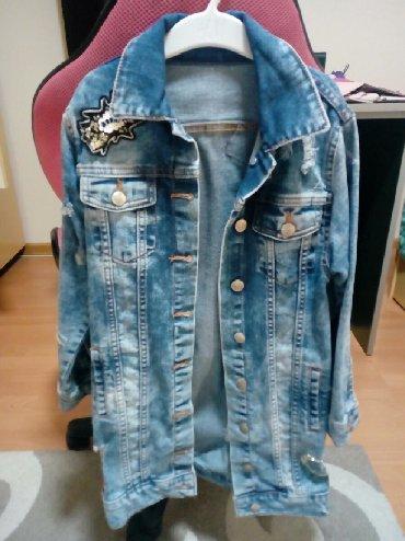 Dečije jakne i kaputi | Cuprija: Prelepa,moderna,eksta jakna za devojčice. Bukvalno obučena tri puta