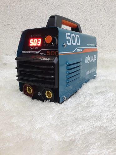 Qaynaq - invertor aparatl. Лошадь ЛАС 500- 20-500 Amper,- 7,2 Kwt-