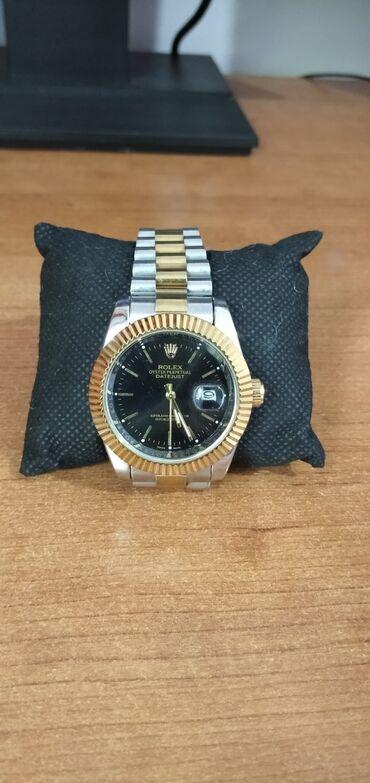 chasy rolex mehanika в Кыргызстан: Золотистые Унисекс Наручные часы Rolex