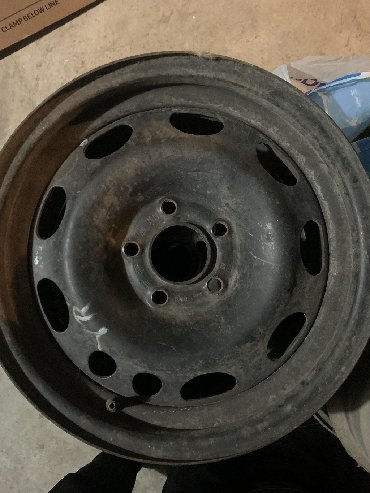 диски на ауди 100 с4 в Кыргызстан: Железные диски 6/1.2J R15 ET 33 фирмы GM 5*108 Ауди