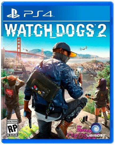 Bakı şəhərində Ps4 watch dogs 2 oyun diski satılır Yenidir bağlı