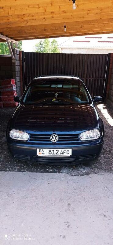продажа авто гольф 4 в Кыргызстан: Volkswagen Golf 1.6 л. 2000   221000 км