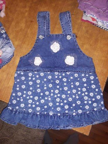 Duga haljina americi - Srbija: Haljinica za bebe i majica dug rukav, jednom obuceno