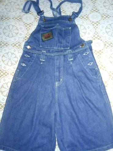 Dečija odeća i obuća - Sid: Teksas tregeruse kratke, broj 128