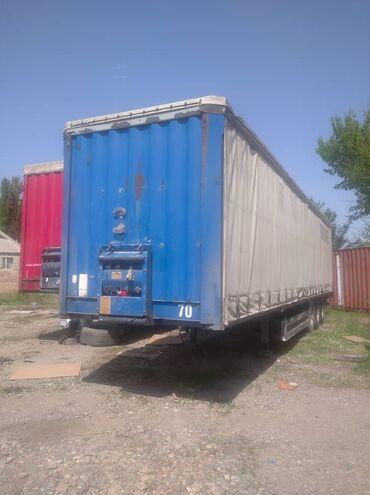 грузовики в Кыргызстан: Продаю или меняю полуприцеп Кроне Стандарт, в отличном состоянии!
