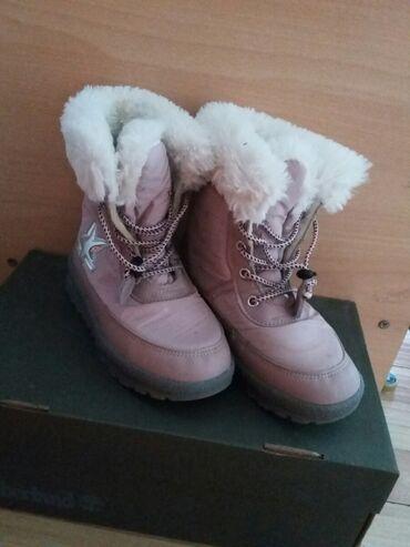 Детская обувь - Бишкек: Продаю детские сапоги в хорошем состоянии,корея,19 размер,торг