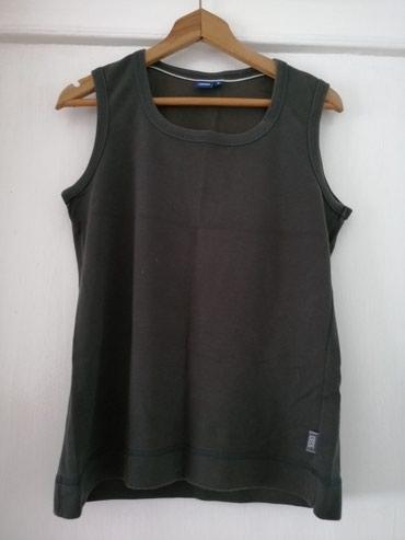 Ženska braon majica sa debelim bretelama Veličina S - Obrenovac