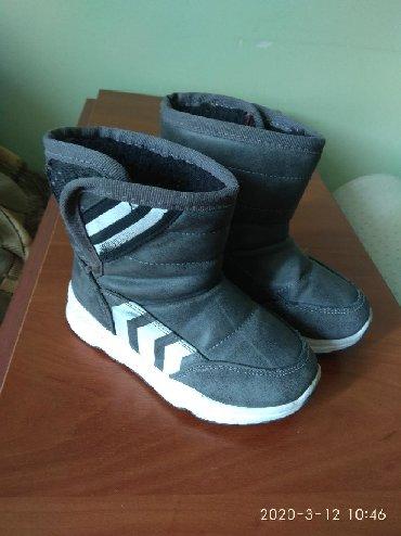 замшевые туфли на каблуках в Кыргызстан: Сапоги дет., 27р. зим. 5 мкр-н