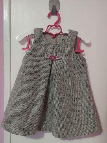 Dečija odeća i obuća - Obrenovac: Beneton haljijica velicina 74/80