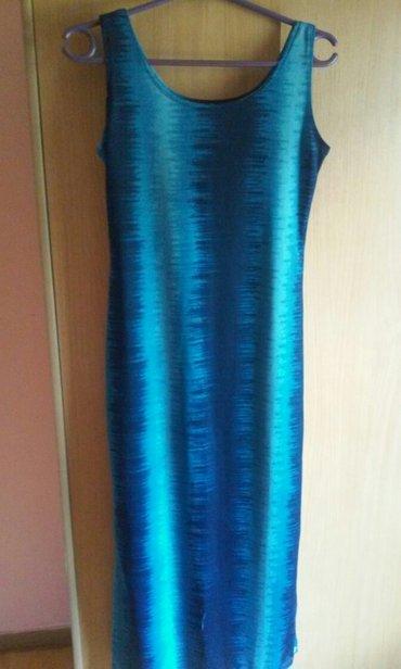 Lepa,duga letnja haljina,kao nova,prelepe nijanse uvek moderne plave - Vrnjacka Banja