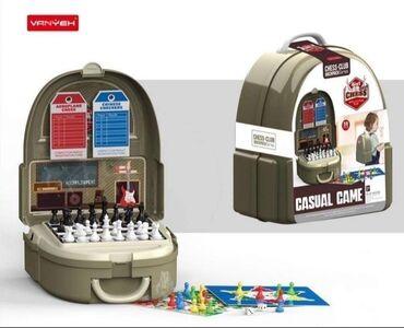 Sport i hobi - Pozarevac: Ranac set drustvene igreRanac set sa drustvenim igrama ucinice igru