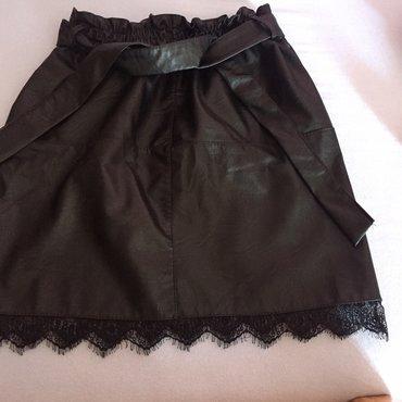 Kožna suknja univerzalna veličina