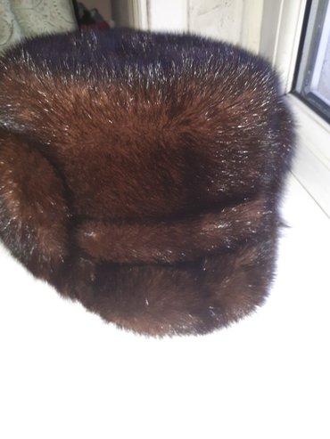 срочно продаю канадскую норковую шапку, купленной в россии.. состояние в Бишкек