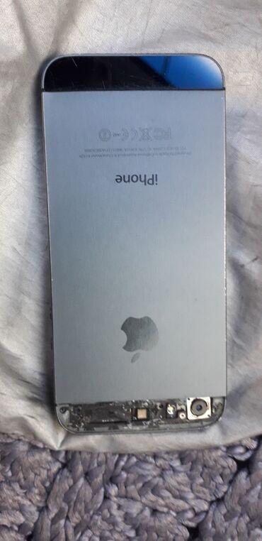 i-phone-5 - Azərbaycan: İphone 5.Xarabdır.Batareykası təzədir.Hec zaryatkaya qoyulmayıb