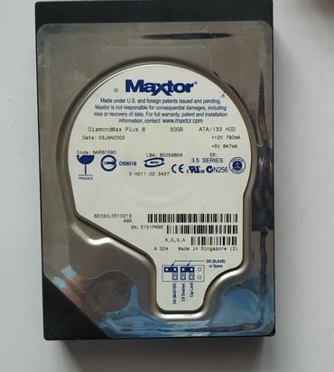 жесткие диски maxtor в Кыргызстан: Жёсткий диск maXtor 30гб ATA serial