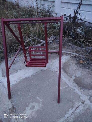 железная качеля в Кыргызстан: Качеля, продаю качели железные советские, из толстого металла.Цен от