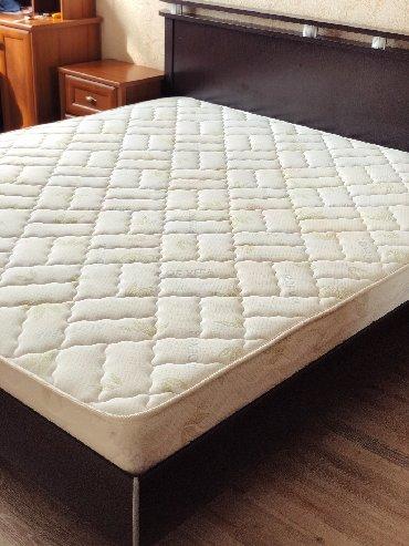 Двухспальная кровать с матрасомПроизводство:РоссияРазмер