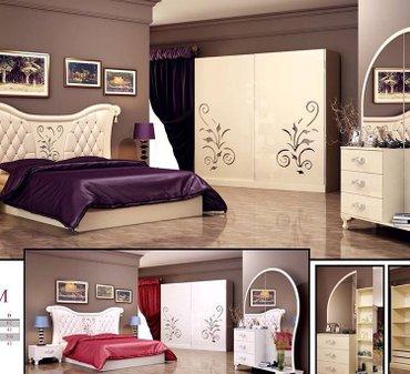 Bakı şəhərində Hürrem yataq desti tam fabrik istehsalıdır ve masın boyası