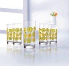 "luminarc francuzskoe steklo в Кыргызстан: Набор стаканов ""Luminarc"" 6 штукPcs Meline (270 мл)N0775"
