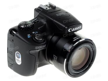 Canon SX50HS. Yenidir demek olarki . 1 2 defe istifade olunub. Yenisi