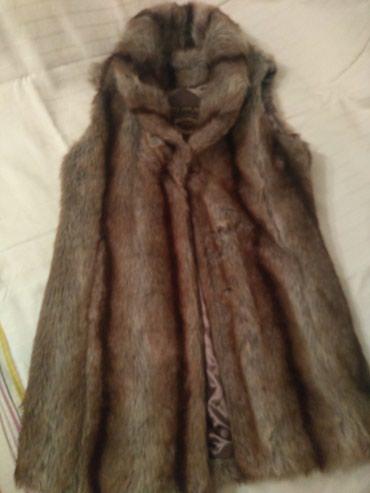 Kozni prsluk - Srbija: Prsluk extra za nosenje preko koznih jakni vel pise s ali odgovara l