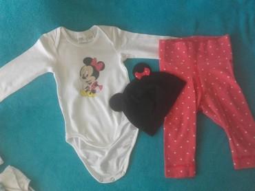HM Minnie Mouse ❤trodelni komplet velicina 68 - Belgrade