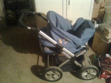Коляска детская на больших удобных колесах, универсальная -