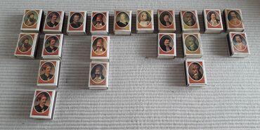 Τέχνη και Συλλογές - Ελλαδα: 20 σπιρτόκουταΗ πλήρης σειρά των 10 σπιρτόκουτων δίνεται μόνο