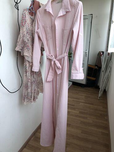 Платье рубашка, надевали всего 2 раза, качество Шик) размер М