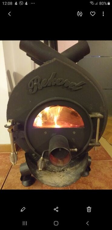 Peci-za-grejanje - Srbija: Povoljno prodajem peć na čvrsto gorivo Rekord. Grejala prostor od 60