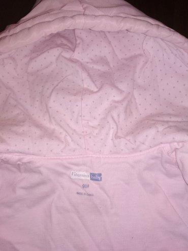 Продаю Деми курточку на девочек 9 месяцев очень красивая и нежная в Токмак - фото 2