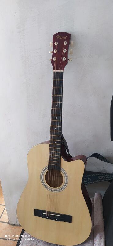 Спорт и хобби - Кызыл-Суу: Продается гитара, чехол в подарок!