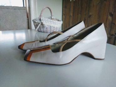 Drap, kožne, posebne, italijanse cipele broj 37. - Palic