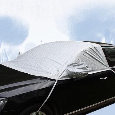 тент в Кыргызстан: Тент чехол накидка защита лобового Тент закрывает часть крыши, лобовое