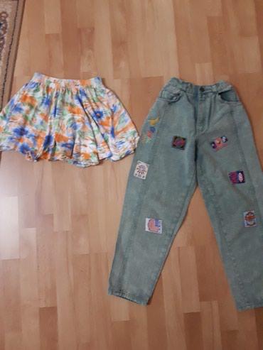 Super ocuvane zanimljive pantalone i suknjica lambada za devojcice br. - Jagodina
