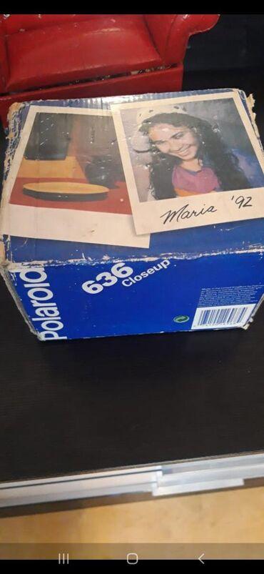 Polaroid.şekili anında çekib cıxarır.tezedir heç bir defede işlenmeyib