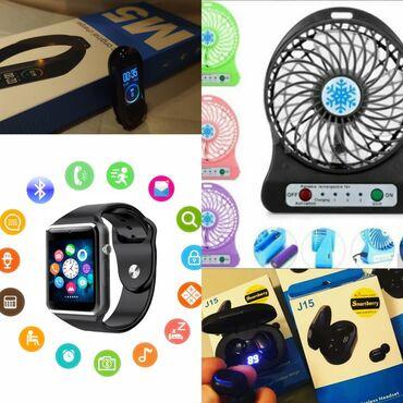 Smart watch A1 + mini serinkes + airports + M5 Yalnız ay sonuna kimi