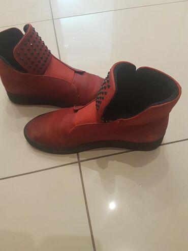 Farmerke-legen-teget-duboke - Srbija: Kozne duboke cipele 39 broj