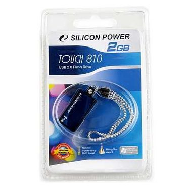 USB 2.0 SiliconPower Touch 810 4Gb Blue в Бишкек