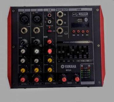 Yamaha karaoke aparat sesguclendirici usilitel echo mikrafon Bluetooth