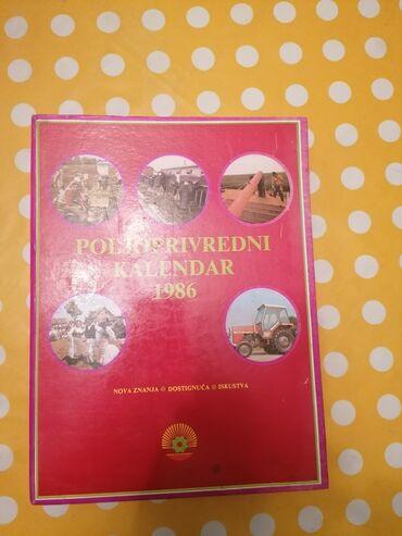 Poljoprivredni kalendar 1986