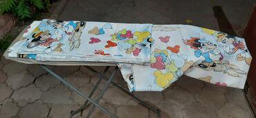 Детские шторы для детской 120×250 2 полосы