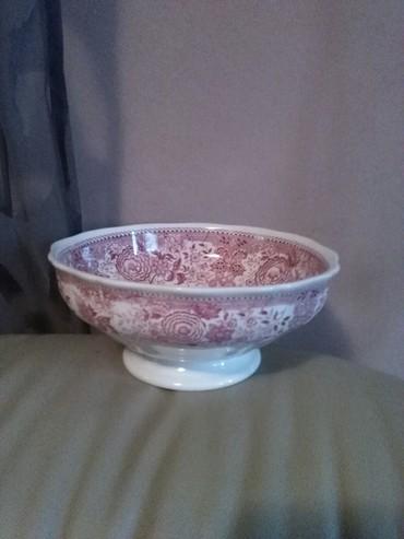 Cinija Villery &Boch porcelan,malo je.krcnuta sa strane - Sombor